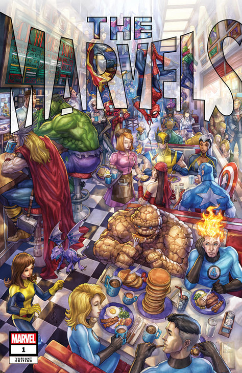 The Marvels #1 Alan Quah Trade Variant