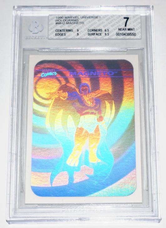 1990 Marvel Universe Magneto Hologram BGS 7