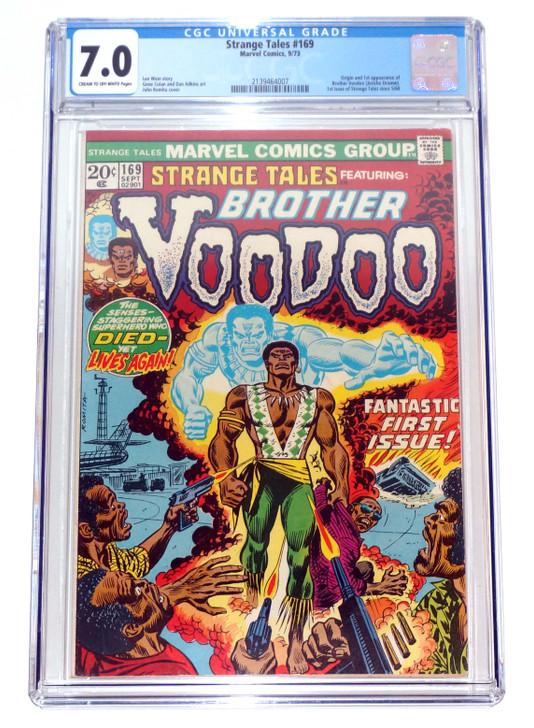Strange Tales #169 CGC 7.0 1st Brother Voodoo