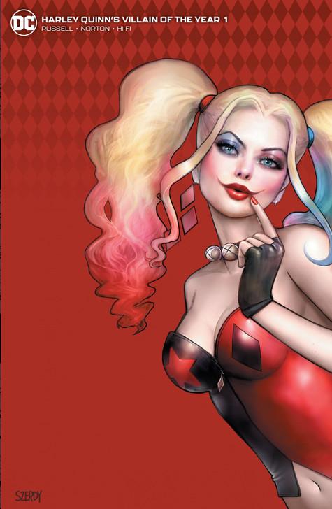 Harley Quinn Villain of the Year #1 Nathan Szerdy Minimal Variant