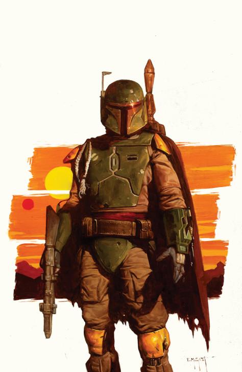 Star Wars War of the Bounty Hunters Alpha #1 E.M. Gist Virgin Variant
