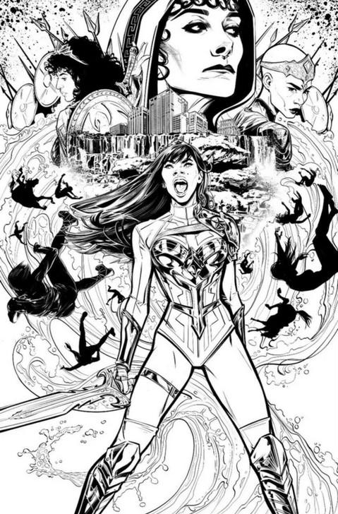 Wonder Girl #1 Joelle Jones 1:50 Retail Variant