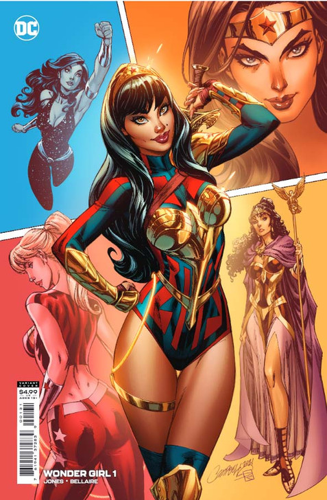 Wonder Girl #1 J Scott Campbell 1:25 Retail Variant