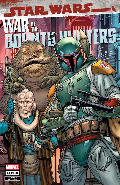 Star Wars War of the Bounty Hunters Alpha #1 Todd Nauck Trade Variant
