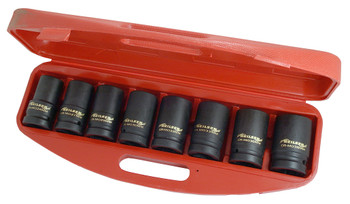 "Neilsen 8 Piece 1"" Drive Deep Impact Socket Set"