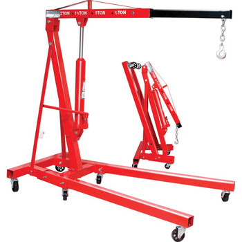2 Ton Folding Shop Crane Engine Hoist