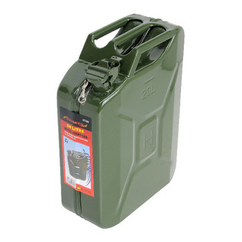 Fuel Jerry Can 20 Litre Metal Green Tuv-Gs