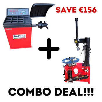 COMBO DEAL: Balancer and Tyre changer