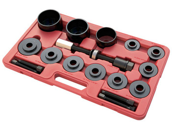 17pc Master Set Front Wheel Hub Drive Bearing Removal Install Service Kit