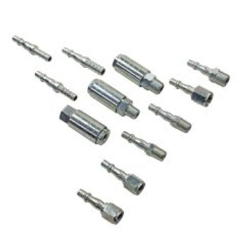 12 pc Quick Connection Couplings & Fittings Set