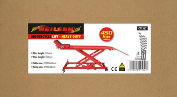 Motorcycle Lift - Heavy Duty