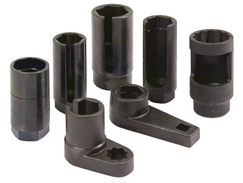 "Oxygen Sensor Sockets-7pc Set 1/2"" Drive"
