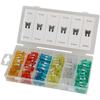 120 pc Auto Fuse Assortment