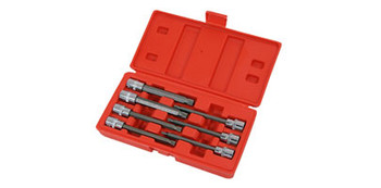 Spline Bit Set - 7pc 3/8in.Dr