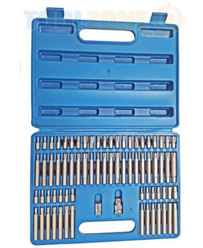 74pc Bit Socket Set