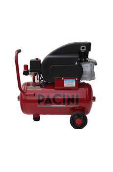 Pacini 24 Litre 2HP Air compressor 8 CFM