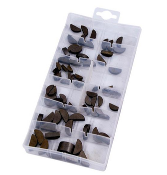 80-piece Woodruff Key Assortment