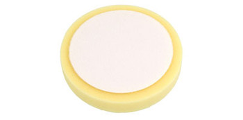 "6"" Hexagon Velcro Foam Pad (Yellow)"