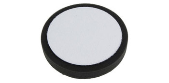 "6"" Hexagon Velcro Foam Pad (Black)"