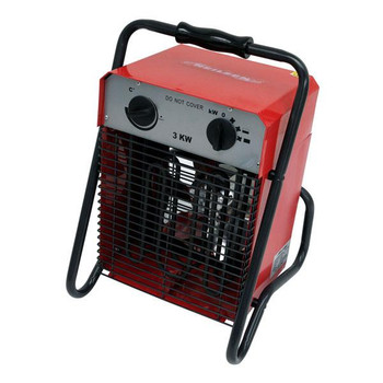 Electric Space Heater. Red Bod 230v/50hz 3000w