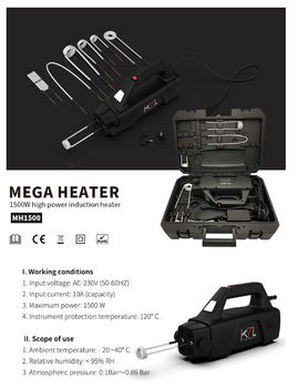 Mega Heater Induction Bolt Remover