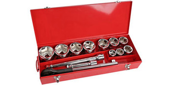 "1"" Socket Set - 15pc"