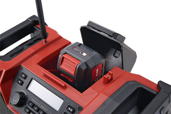 Digital 10.8 / 18.0 V cordless radio for the construction site