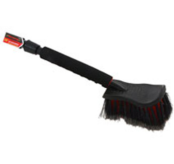 "20"" Long Handle Car Wash Brush With On-off Ball Valve"