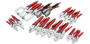 Locking Pliers - 16pc Set