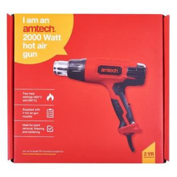 2000W 2 Heat Settings Hot Air Gun