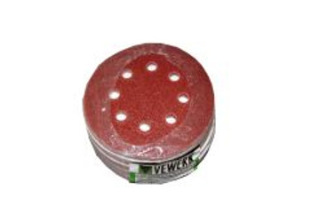 125mm Sanding Disc Mixed Grit 50 Pack