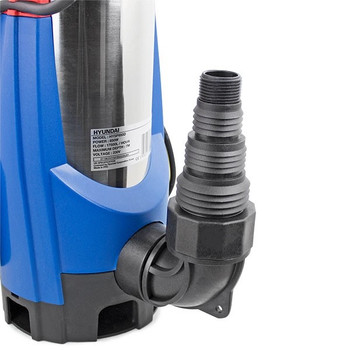 850W Stainless Steel Electric Submersible Dirty Water Pump by Hyundai
