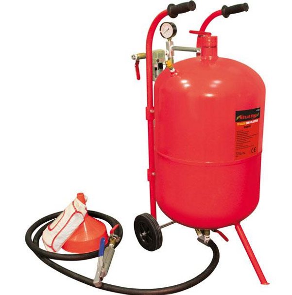 Sandblasting Pot 10 gallon