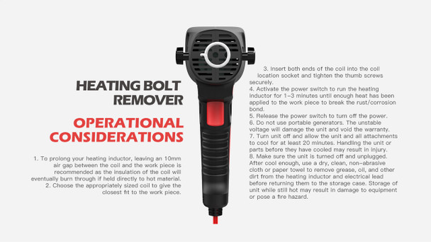 WOYO Induction Heat Bolt Remover