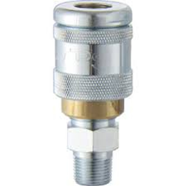 """PCL 100 Series Coupling Airline Fitting 1/2""""BSP Male"""