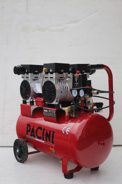 Pacini 50 Litre 2HP Silent Air compressor