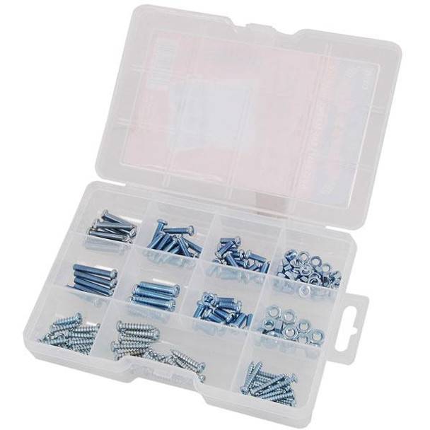 Nuts And Bolts - 146 Piece Self-tapping Screw Assortment