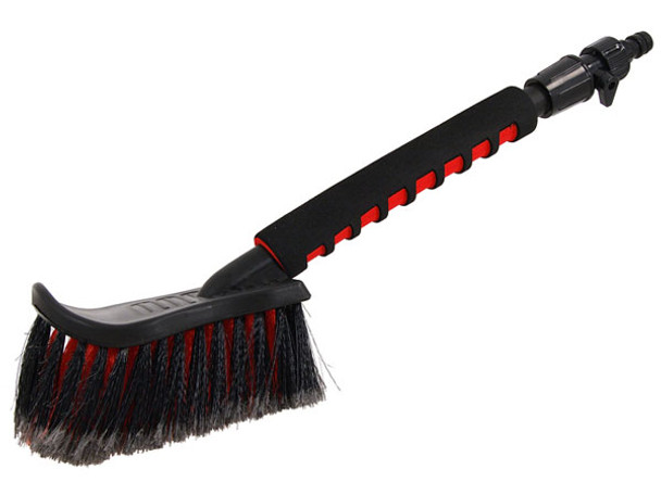 """20"""" Long Handle Car Wash Brush With On-off Ball Valve"""