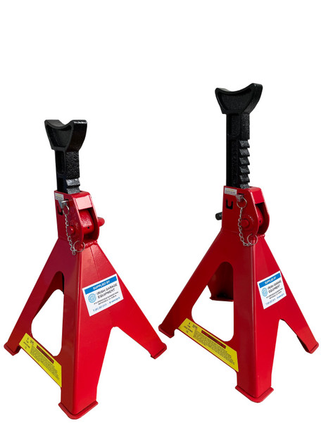 6 Ton Axle Stands with Safety Pin (pair)