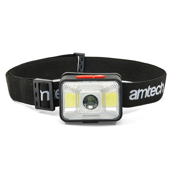 3W COB LED USB Rechargeable Head Torch