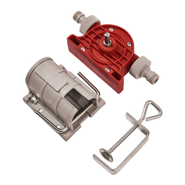 Drill Powered Pump and Clamp