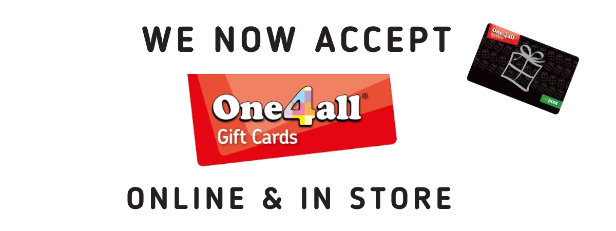 IGE now accepts one4all giftcard