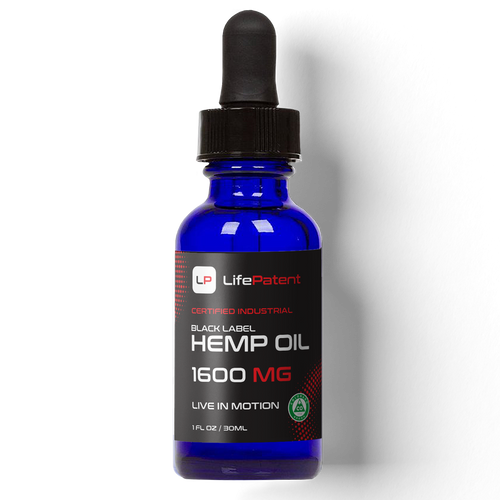 Black Label Hemp Oil - 1600mg of CBD