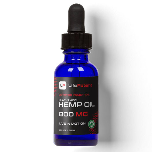 Black Label Hemp Oil - 800mg of CBD