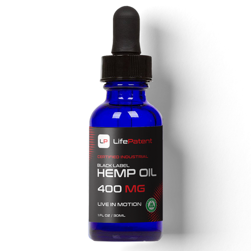 Black Label Hemp Oil - 400mg of CBD