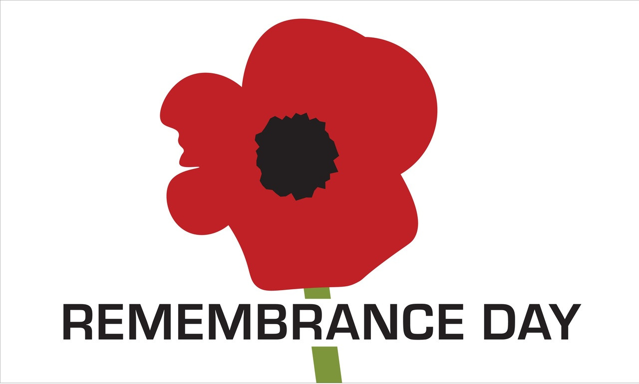 3 X5 Remembrance Day Poppy Flag