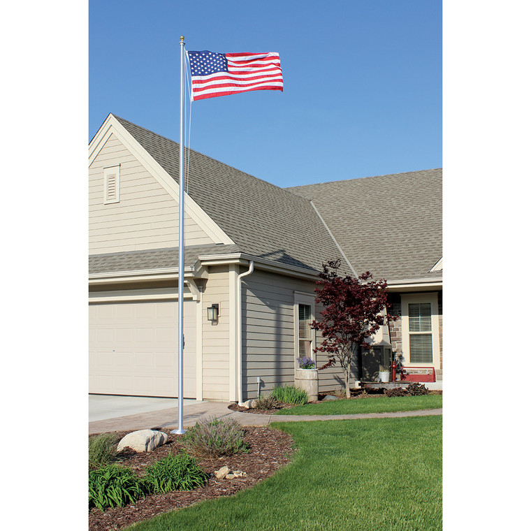 3 inch Diameter Tapered Sectional Flagpoles