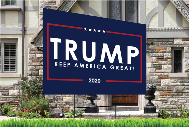 Trump Yard Sign