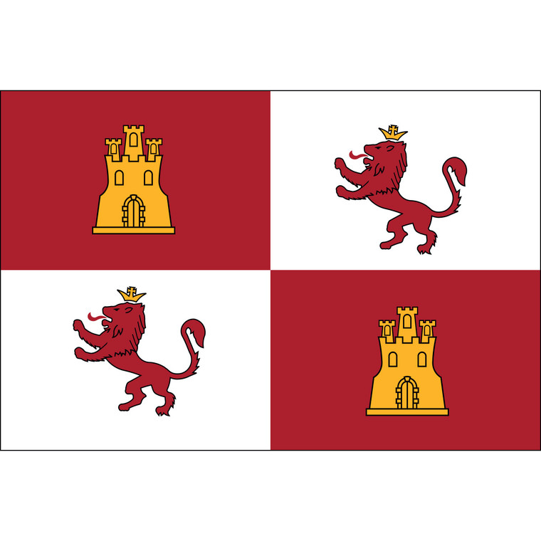 Lions and Castles Flags