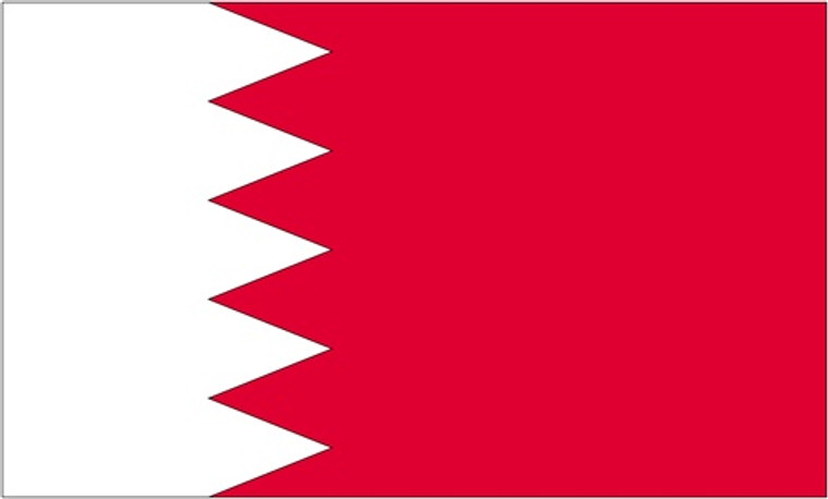 Bahrain - 3'x5' Light Weight Polyester Flag